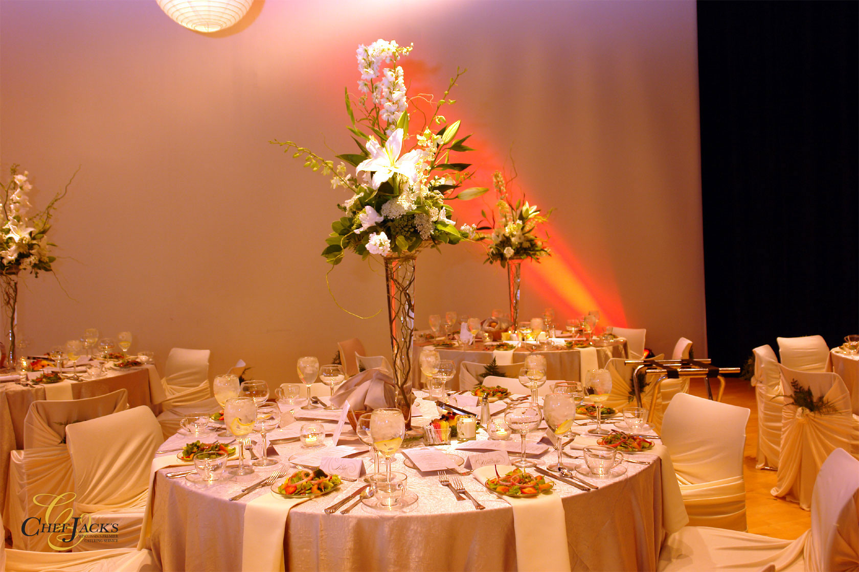 unique wedding reception
