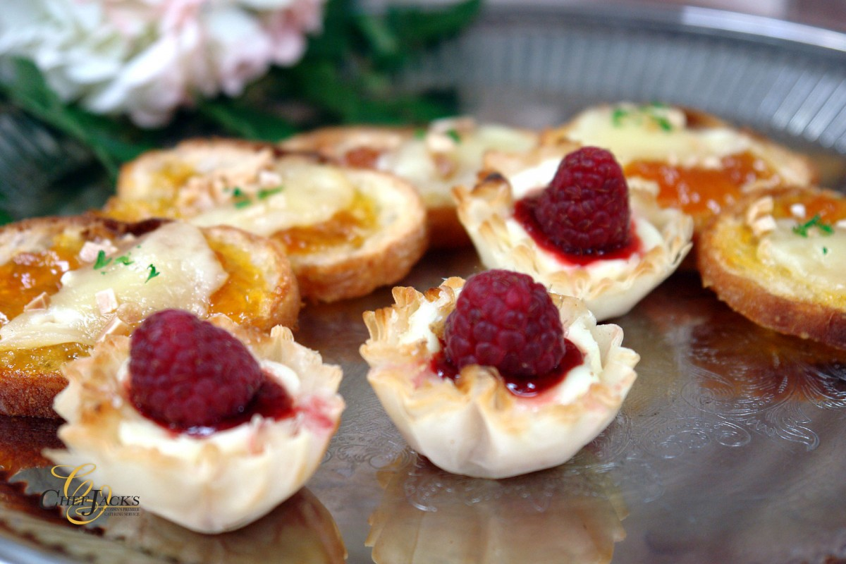 Wedding Appetizers That Make a Statement