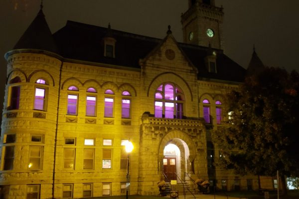 Outside at Historic Courthouse 1893